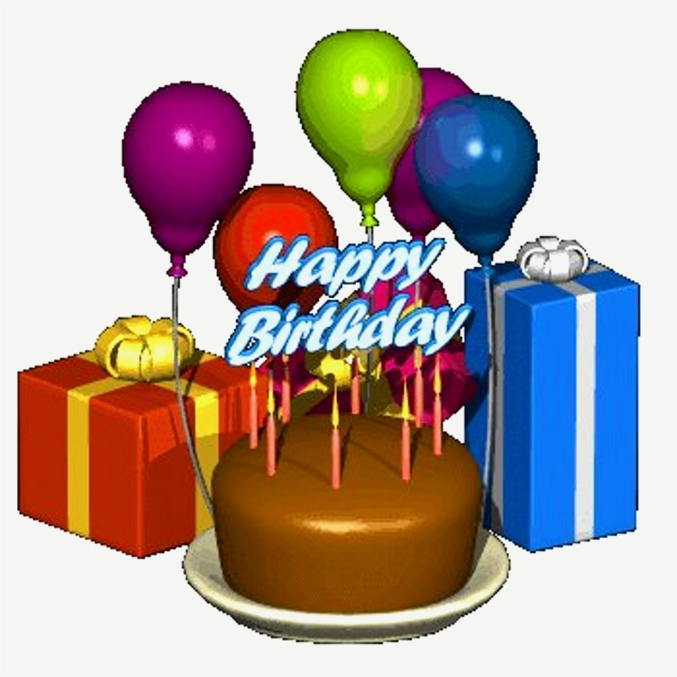 960x960 Elegant Images Of Birthday Cake And Balloons
