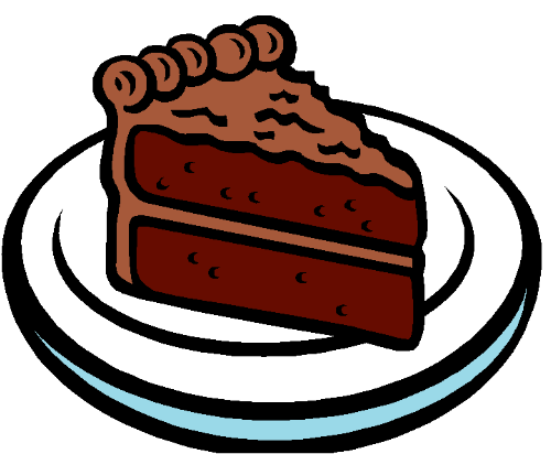500x412 Cake Clipart Chocolate Cake Pencil And In Color