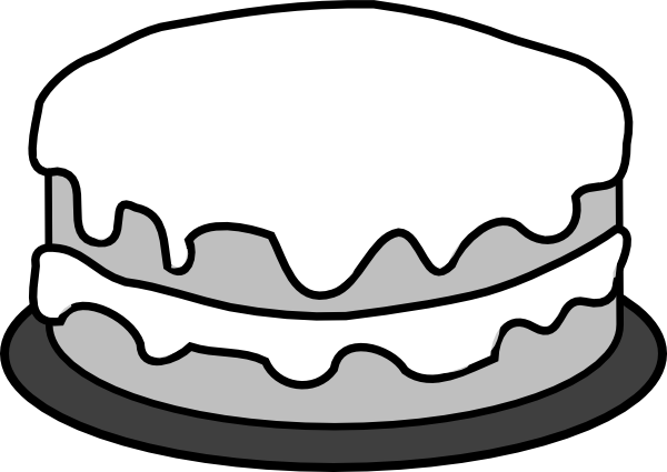 600x425 Cake Clip Art