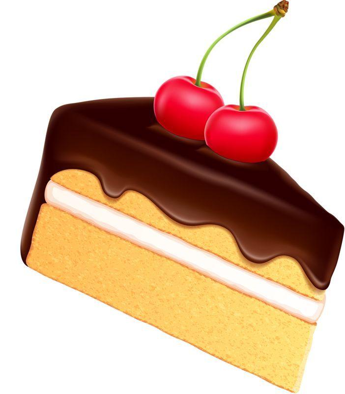 702x800 Cake Slice Clipart