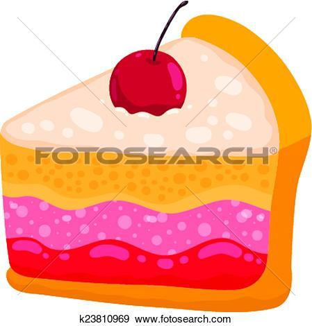 449x470 Cute Slice Of Cake Clipart