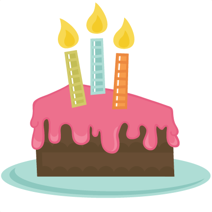 432x432 Birthday Cake Slice Vector ~ Image Inspiration Of Cake