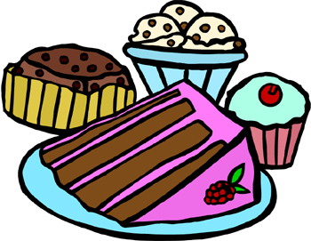350x271 Slice Of Cake Clip Art