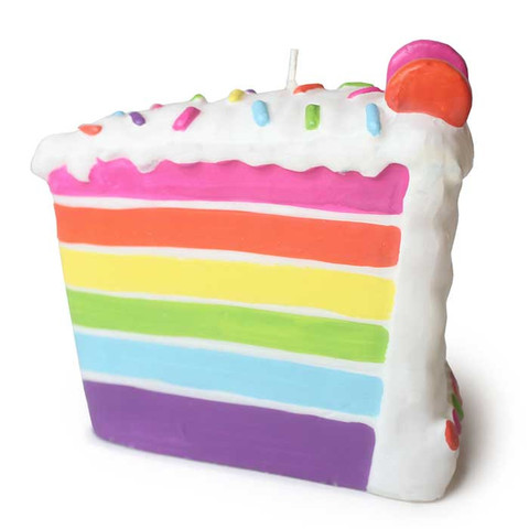 480x480 Birthday Cake Slice Rainbow Pictures And Images Birthday Cakes