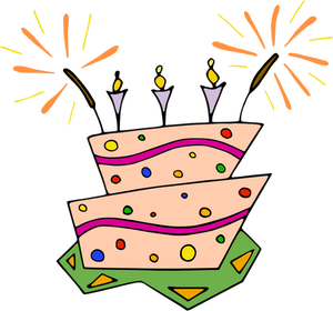 Cake Slices Clipart