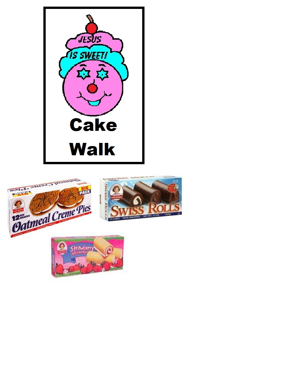 1020x1318 Cake Walk Clipart