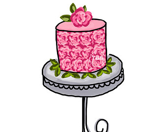 340x270 Cake Clipart Table