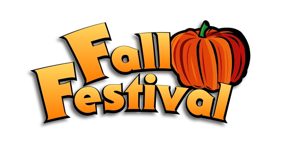 1000x500 Fall Festival Cake Walk Clipart