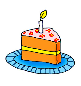 265x281 Big Birthday Cake Clip Art