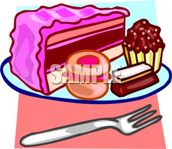 350x303 Clip Art Dessert Cake Clipart