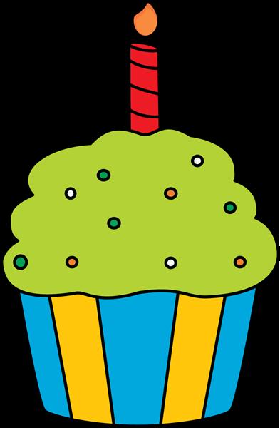 393x600 Cupcake Clip Art