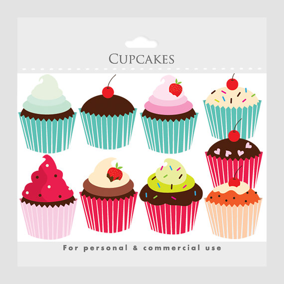 570x570 Cupcakes Clipart