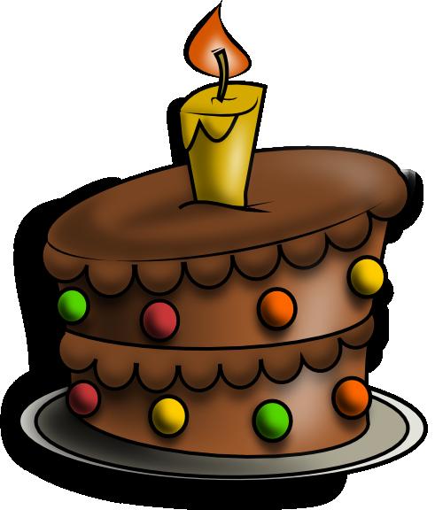 491x576 Birthday Cake Free To Use Clip Art