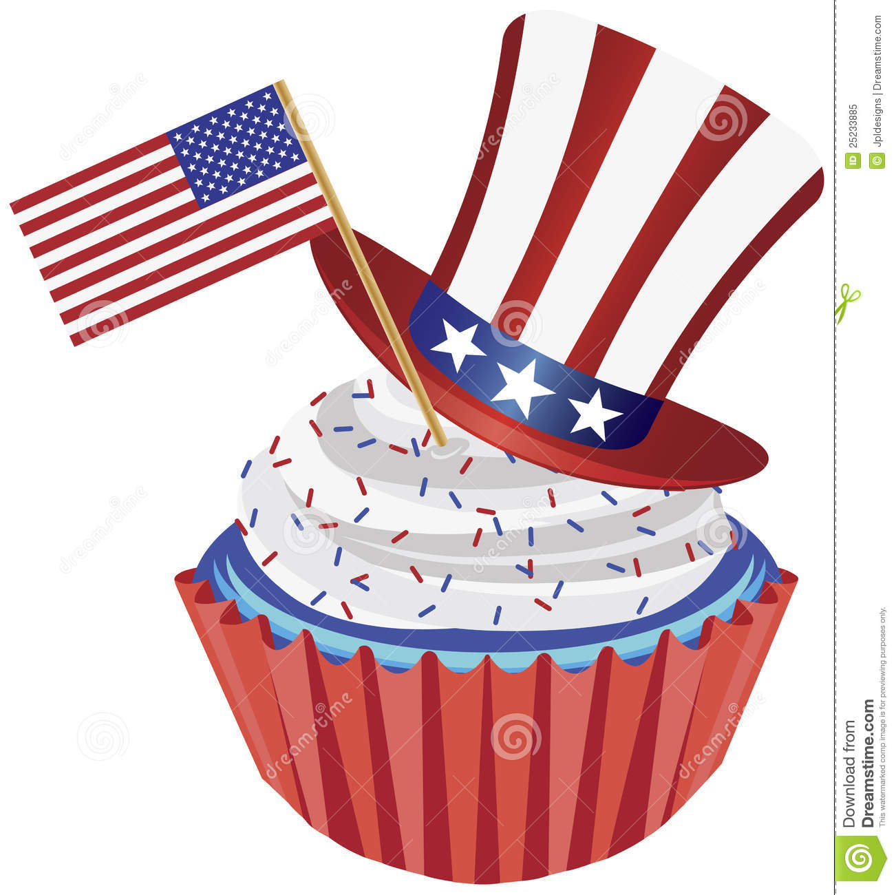 1302x1300 Cake Clipart 4th July
