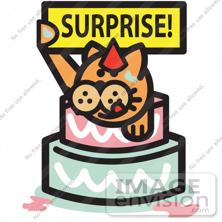 450x450 Cats Birthday Cakes Clipart