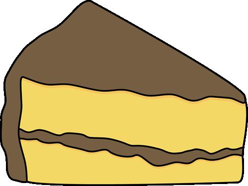 500x376 Chocolate Cake Clipart Slice Cake