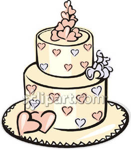 263x300 Clip Art Wedding Cake 101 Clip Art