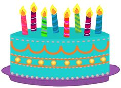 236x172 Clipart Free Birthday Cake
