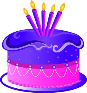 281x300 Free Birthday Cake Clip Art Clipart Panda