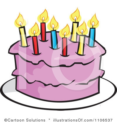 400x420 Free Birthday Cake Clip Art Images