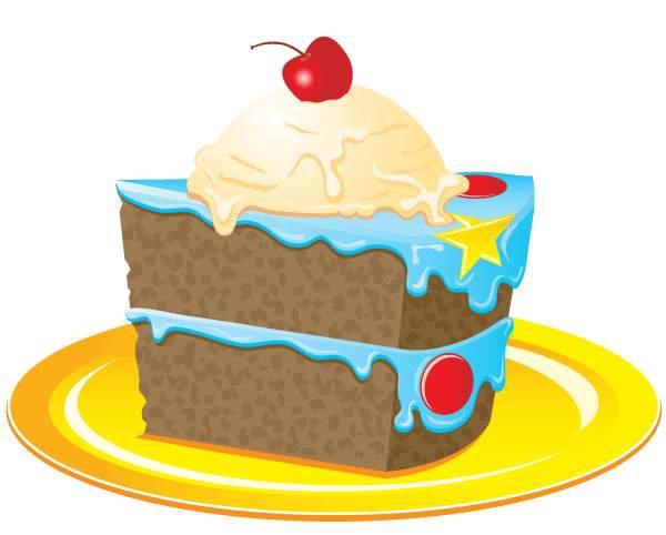 600x482 Slice Cake Art Clipart