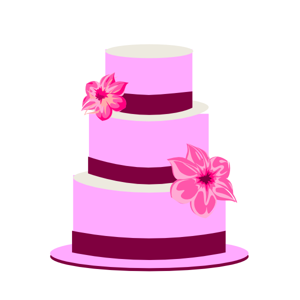 600x600 Tiered Cake Clip Art