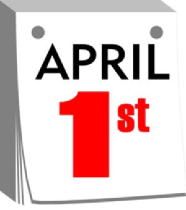 600x680 Calendar Clipart April 1st