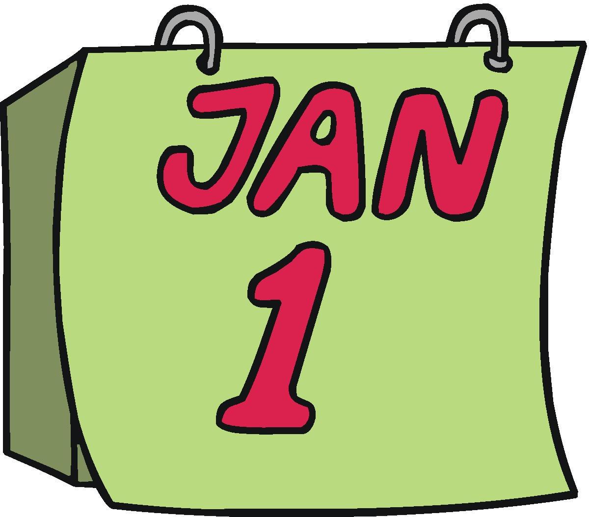 1200x1054 Clip Art January Calendar Clip Art