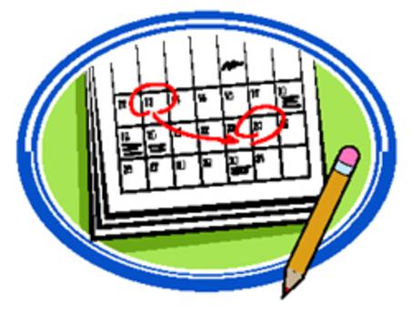 453x346 School Calendar Clipart 2192779