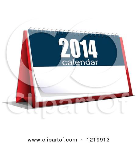 450x470 2014 Calendar Clipart