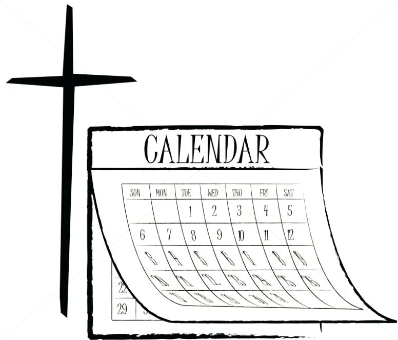 Calendar Clipart Black And White : Calendar clipart black and white free download best