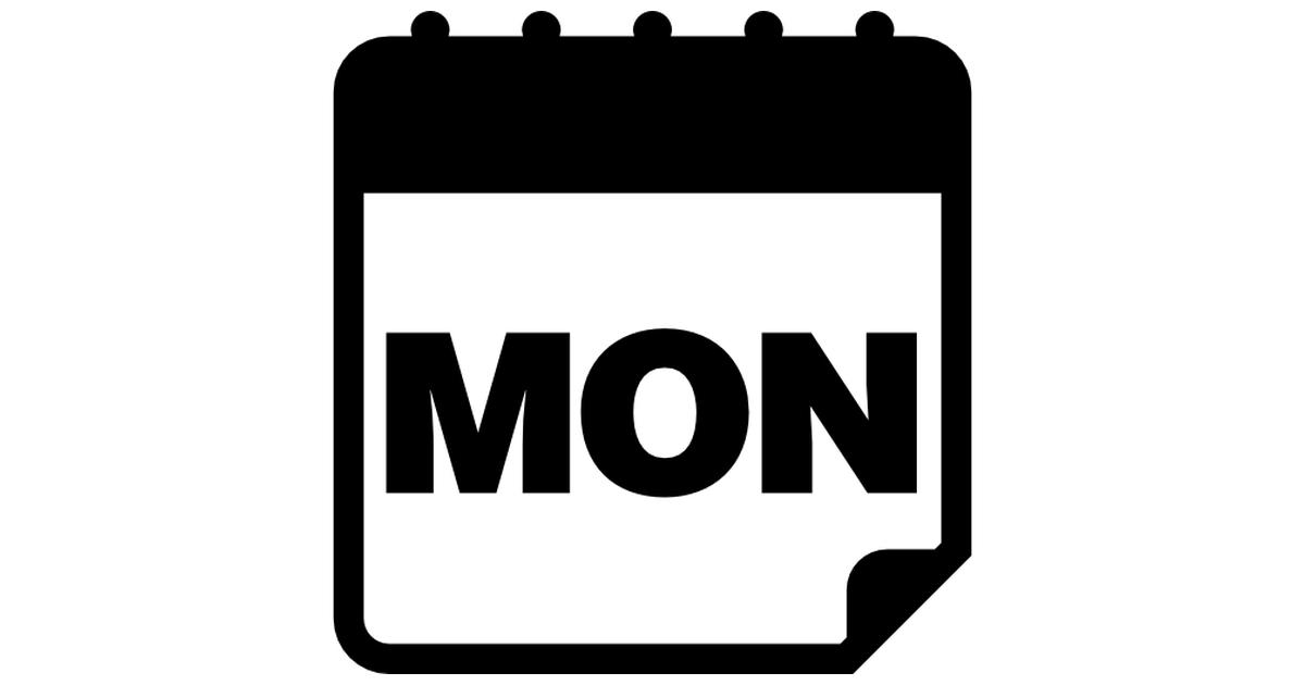 1200x630 Amonday Clipart Calendar