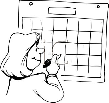 350x333 Jewish Calendar Clip Art