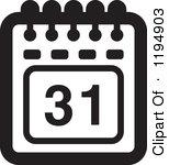 154x150 Calendar Clipart White