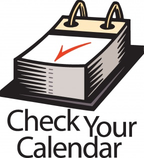 288x316 Events Calendar Clipart Black And White Theme