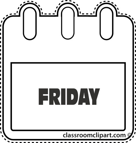 478x500 Monday Clipart Black And White