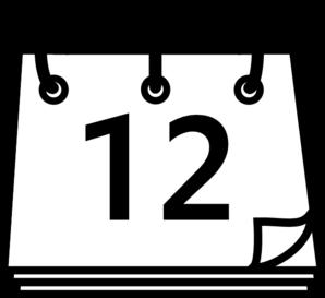 Calendar Graphics Clipart