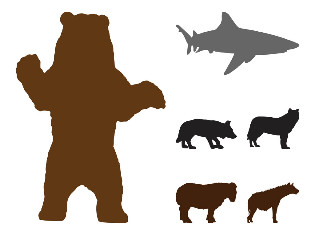 1024x765 Grizzly Bear Clipart Standing