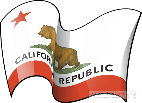 550x401 California Clipart California Flag Clipart