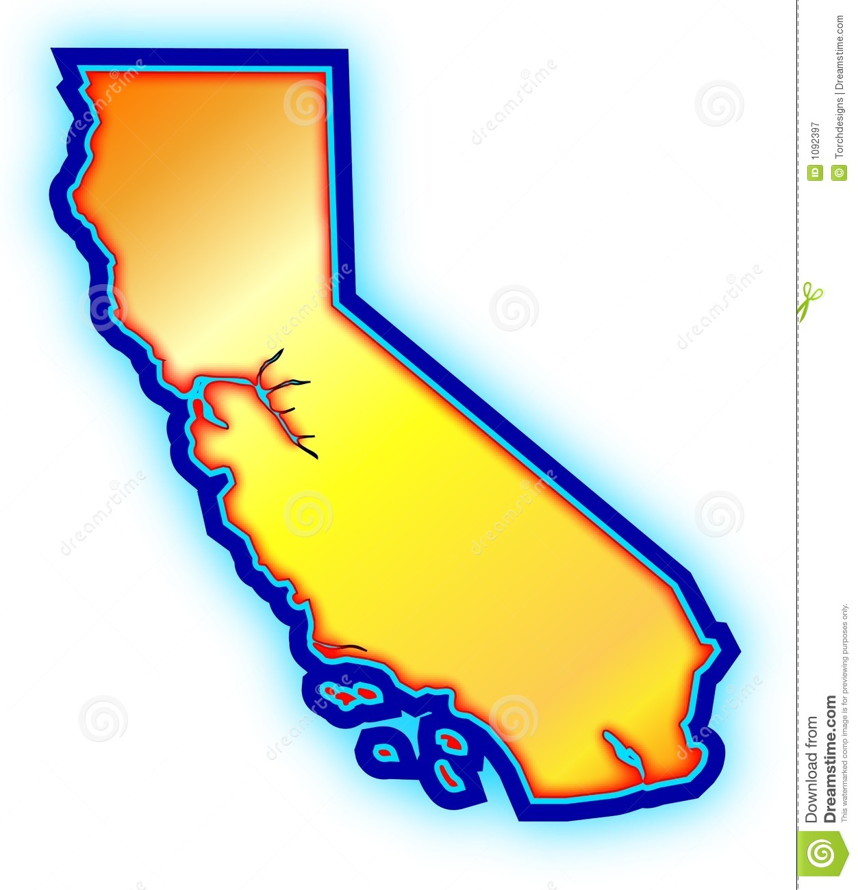 California map. Clipart free download best