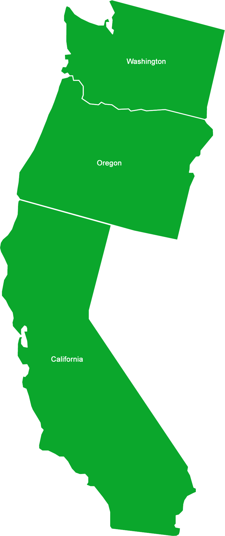 California Map Outline Free Download Best California Map Outline - Us-west-coast-states-map