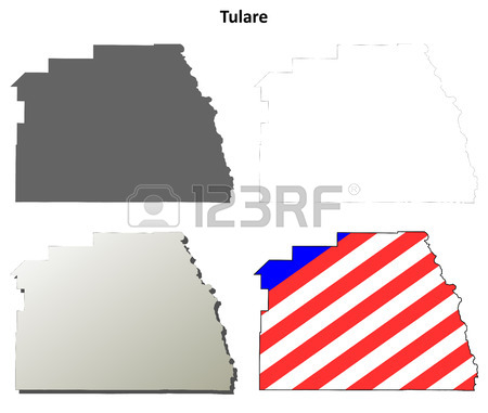 450x381 San Diego County, California Blank Outline Map Set Royalty Free