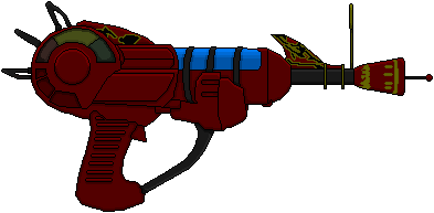 393x193 Ray Gun (Call Of Duty) By Hybrid55555