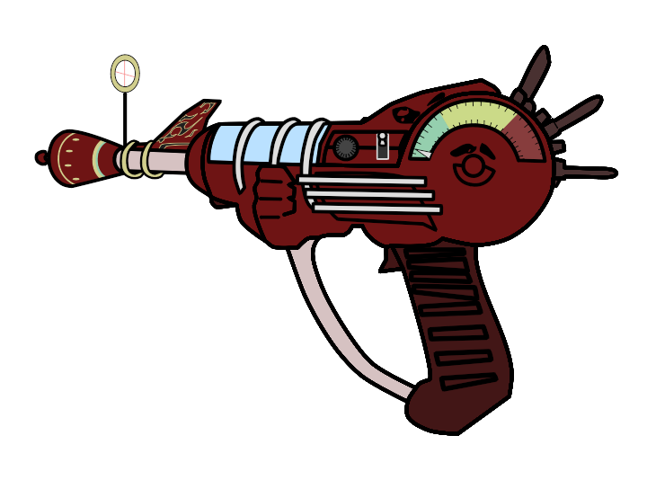 720x534 Walfas Ray Gun And Four Settings By Daemoniken