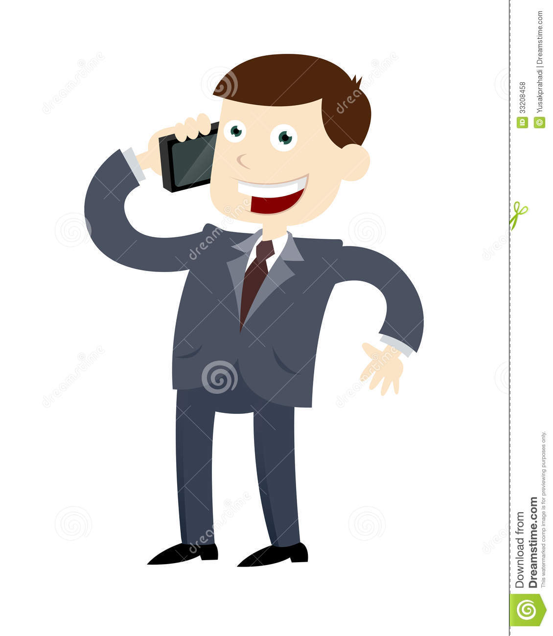 1130x1300 Making Phone Call Clipart