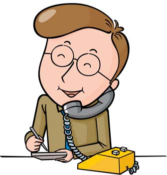 335x350 Telephoning Clipart