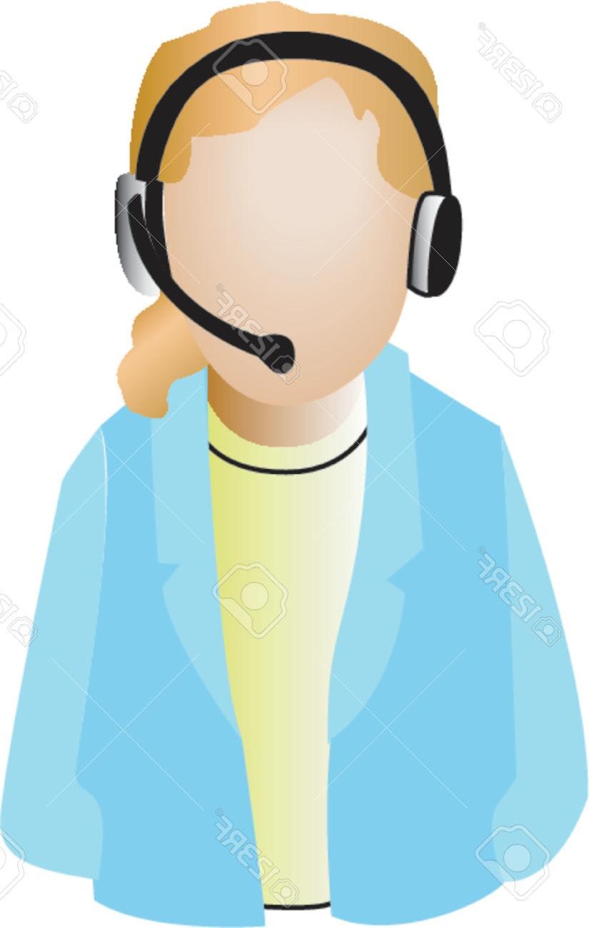 825x1300 Unique Caller Clipart Call Center Agent Icon Stock Vector Pictures