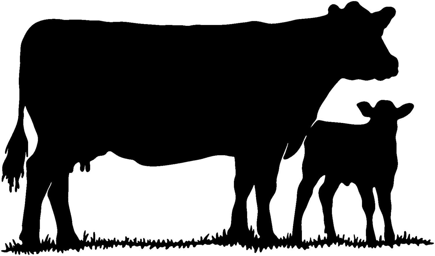 Calves Clipart | Free download best Calves Clipart on ClipArtMag.com for Cow And Calf Clipart  570bof