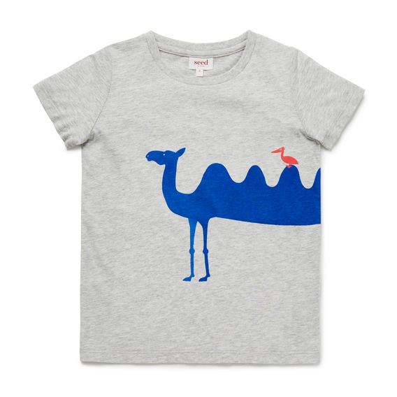 568x568 Camel Print Tee Gimik Printed Tees, Camels