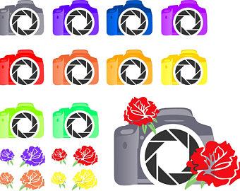 340x270 Camera Clip Art Etsy